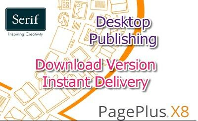 PagePlus X8-Download version with PDF Guides + free access to over 1m images