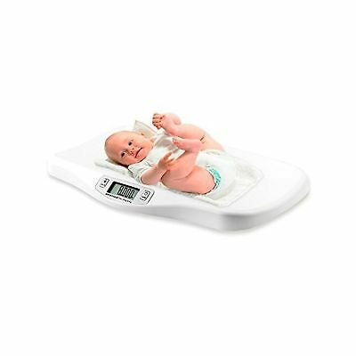 AFENDO Electronic Digital Smoothing Infant  Baby and Toddler Scale -White White