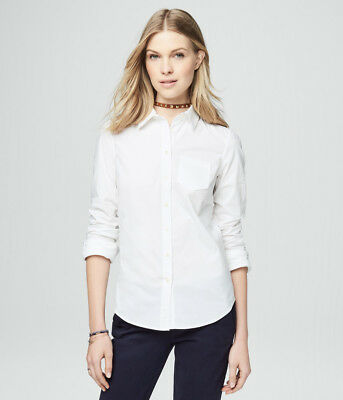 aeropostale womens long sleeve solid woven shirt***