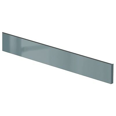 IKEA KALLARP Drawer Front 60cm x 10cm High Gloss Gray-Turquoise - NEW