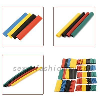 328Pcs 8Size Assortment Heat Shrink Tube Tubing Sleeving Wrap Wire Cable Kit