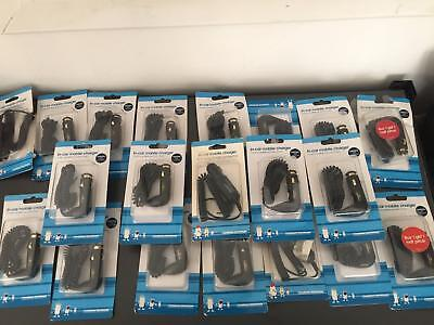 Job Lot 24xSamsung Car Charger C170 D900 E250 E900 F300 G400 J600 M300 U600 ZV40
