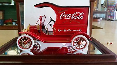 Vintage Red and White Die Cast Model Coca-Cola Truck