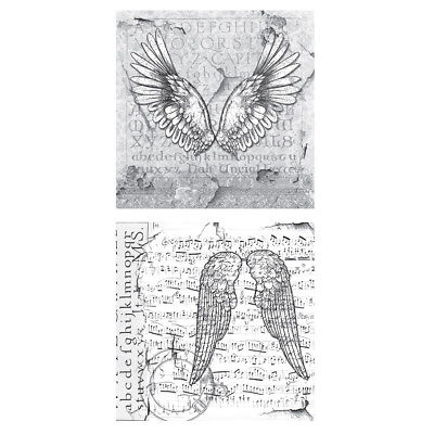 Tattered Angels Mixed Media Origins Double-Sided Paper 12x12-Grace MXM-23230