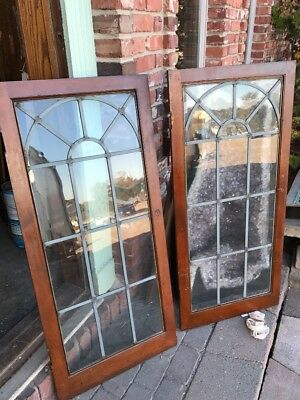Sg 1568 2 Available Priced Each Antique Cabinet Door Or Window 22 X 47.75