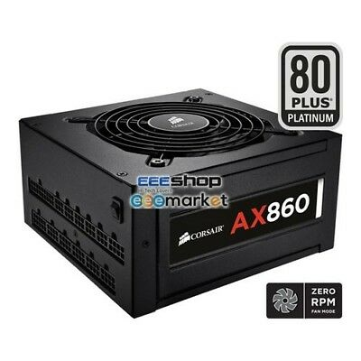 Corsair AX860 80Plus Platinum 860W ATX Black power supply unit Hig CP-9020044-EU