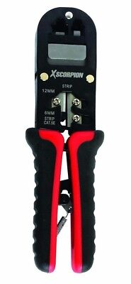 Telephone & Data Communication  Network Cable Crimper Stipper & Cutter Hand Tool