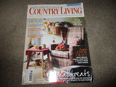 Country  Living  magazine   Back  Issue  November . 2011
