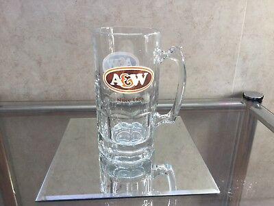 A&W Canada Advertising Root Beer Logo Glass Mug