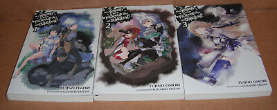Is It Wrong to Try to Pick Up Girls in a Dungeon  Vol.1,2,3 Novels Set English