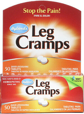 LEG CRAMPS QUININE 50 Tabs, Hylands, Back and Legs