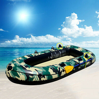 Intex Seahawk 1.9/2.3/2.7m Inflatable Boat Ship With 2 Paddle 2-4 Person Canne