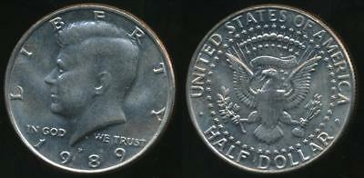 United States, 1989-P Half Dollar, Kennedy - Uncirculated