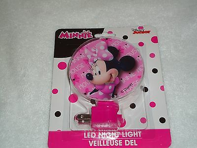 New Disney Junior Minnie Mouse Led  Night Light