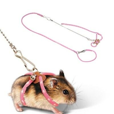 Sugar Glider Harness Leashes Small Animal Leash Rope For Hamster Mouse Squirrel