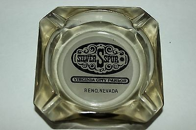 Vintage Silver Spur Virginia City Parlor Reno Nevada Ashtray