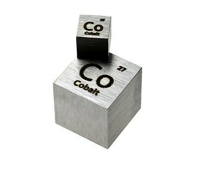 Tungsten Metal 1 Inch 25.4mm Density Cube 99.95% Pure for Element Collection