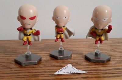 One Punch Man Blind Bag Series 1 Mini Figures 3 Piece Lot