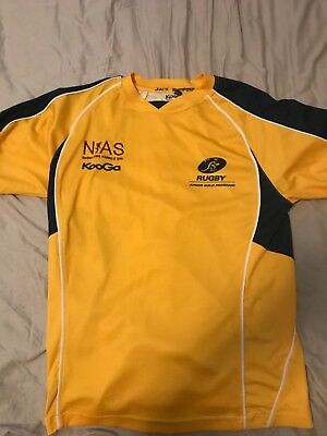 NSW Junior Gold rugby union training shirt