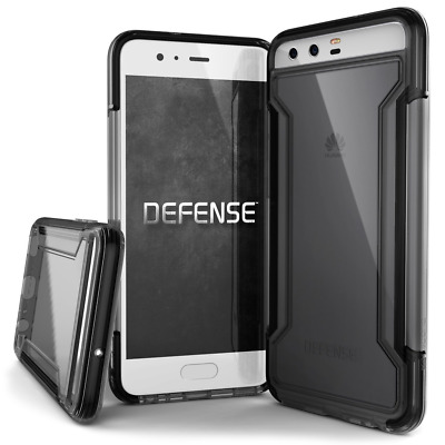 Huawei P10 Case, X-Doria Defense Clear Series - Military Grade Drop Protection,