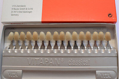 New 1 porcelain VITA Pan dental materials VITA16 color shade Guide teeth