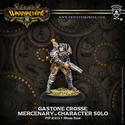 Warmachine Mercenary Gastone Crosse