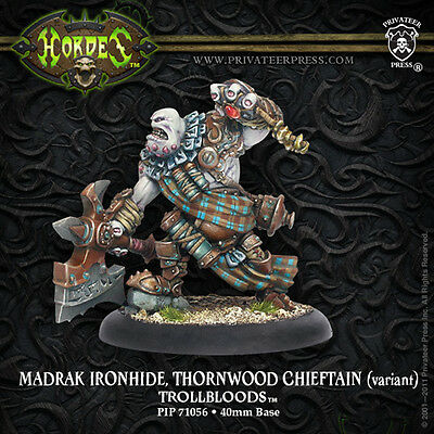 Warmachine Trollblood Warlock Madrak Ironhide (Variant)