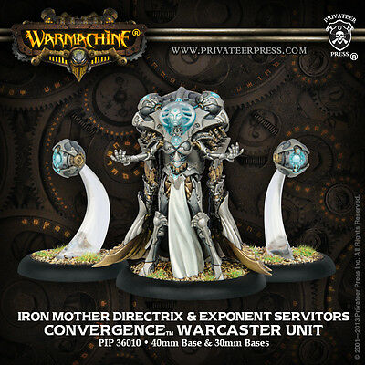 Warmachine Convergence Warcaster Iron Mother Directrix & Servitors
