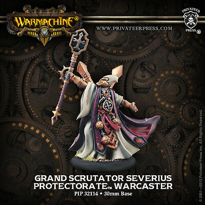 Warmachine Menoth Epic Warcaster Grand Scrutator Severius