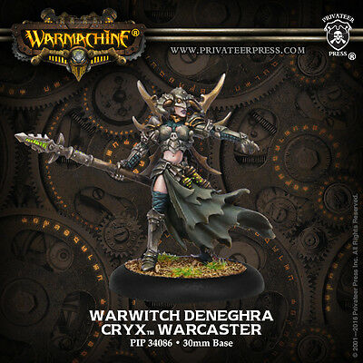Warmachine Cryx Warcaster Warwitch Deneghra
