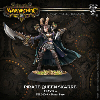 Warmachine Cryx Warcaster Pirate Queen Skarre '09