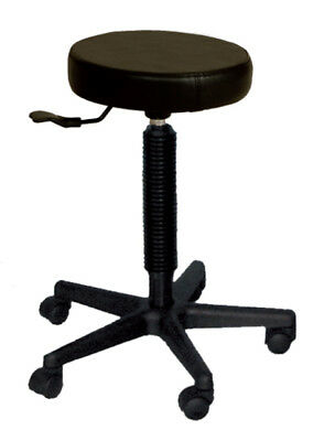 NEW Stool All Black Base suitable for Hair Dressing Salon & Barber Shop
