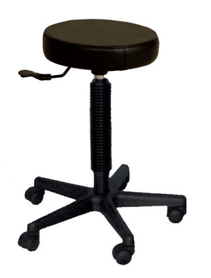 NEW Stool Black Base suitable for Hair Dressing Salon & Barber Shop Free Freight