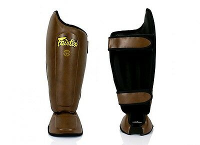 Fairtex SP8 Shin Pads Size M DHL Express Delivery