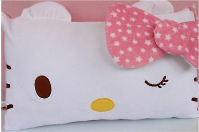 Hello Kitty Face Soft Pillowcase Pink Style 18