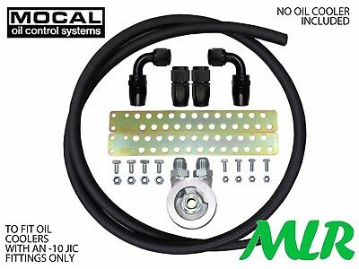 Impreza Wrx Sti Turbo Mocal -10 Braided Hose Oil Cooler Fitting Kit Zqbhbf-M20