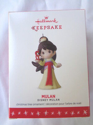 Hallmark 2016 MULAN Precious Moments ornament Disney limited edition