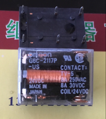 1PC New Omron G6C-2117P-US relay DC24V