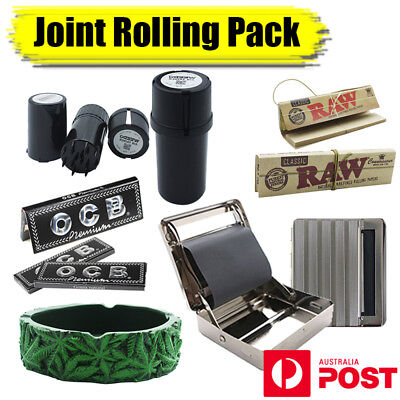 Joint Rolling Pack, Grinder, Rolling Papers, Ashtray, Rolling Machine