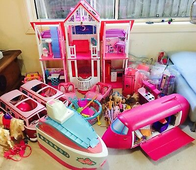 Barbie Bonanza Over $1500 value if buying new.