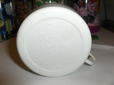 White Plastic Lunch Box-Thermos Cup-By The Thermos Company-28A53-:>Free To US