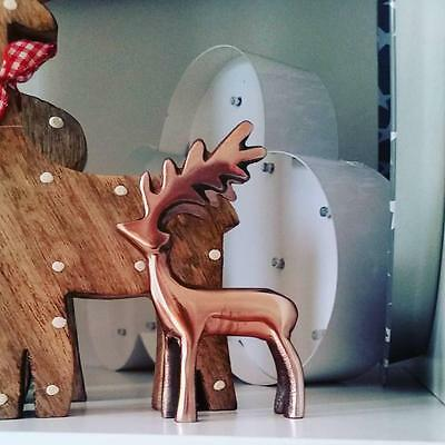 Nobby The Copper Stag Standing Decoration