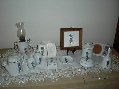 Collection Of Holly Hobbie Blue Girl1970's Era