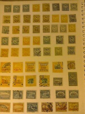 A Selection of Stamps from Ecuador.