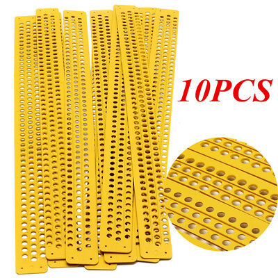 10pcs/Set 39.5cm Beehive Plastic Pollen Collector Traps Beekeeping Honeycomb Kit