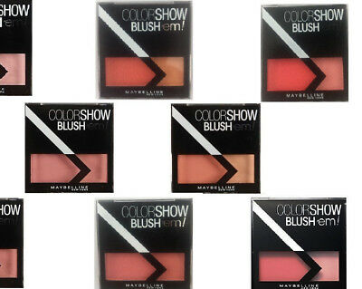 Maybelline Colorshow Blush'em Blusher Choose Your Shade New