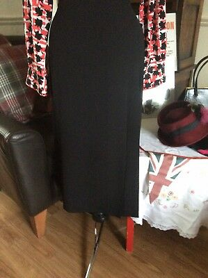 Vintage 1940s WWII Land Girl Style Ladies M&S Skirt Size 16