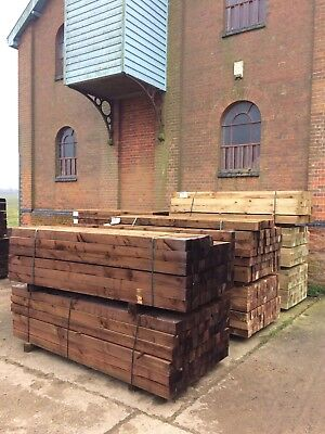 8' Wooden Fence Posts
