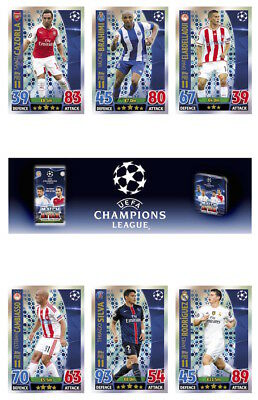 Topps Match Attax Champions League 2015/16 Individual Pro 11 Cards