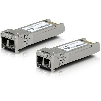 Brand New Ubiquiti U Fiber Multi-Mode Module 10G 2-pack Fiber UF-MM-10G